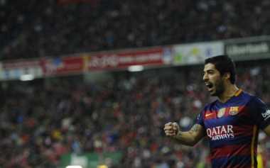 Suarez Akan Berkembang Bersama Barcelona