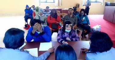 Mesum Siang Bolong, 6 Pasangan Diamankan Polisi