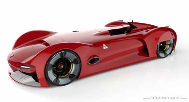 Mobil Masa Depan Alfa Romeo Trionfo Usung Gaya Klasik