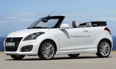 Inikah Tampang Suzuki Swift Convertible?