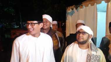 Sandiaga Uno Anggap Tutty Alawiyah Gurunya