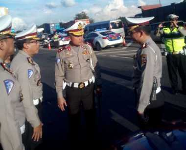 Libur Panjang, Korlantas Polri Cek Kesiapan Tol Jakarta-Cikampek