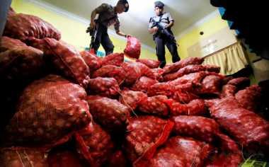 Penyelundupan 20 Ton Bawang Merah ke Riau Digagalkan