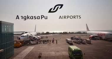 Aspal Bandara Ngurah Rai Terkelupas Satu Meter