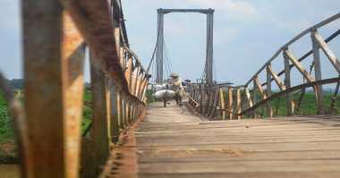 """Ada Jembatan """"Uji Nyali"""" di Purworejo"""