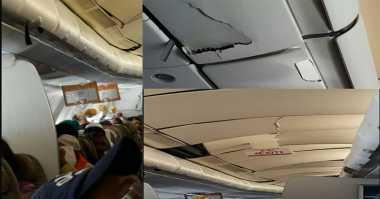 Kondisi Mengerikan saat Insiden Turbulensi Pesawat Etihad