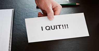 4 Pertimbangan Cerdas Sebelum Resign