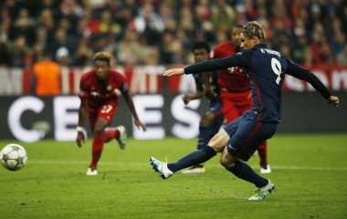 Legenda United Terpesona dengan Atletico