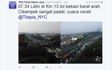 Selamat Berlibur, Ini Update Arus Lalin di Tol Sekitaran Ibu Kota