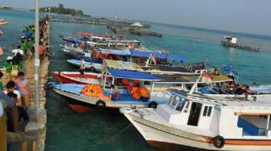 Libur Panjang, Pulau Tidung Diserbu Ribuan Wisatawan