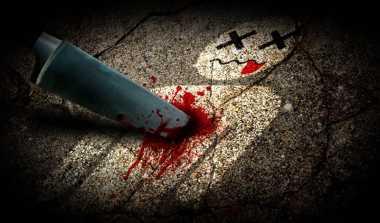 Digiring ke Mapolsek, Ayah Pembunuh Anak Kandung Ngamuk