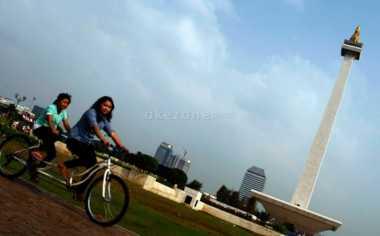 Cuaca Cerah Berawan Sambut Libur Panjang di Jakarta