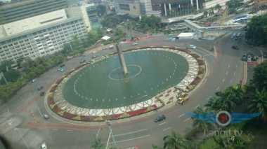 Libur Panjang Hari ke-2 Jalan Sudirman-MH Thamrin Sepi