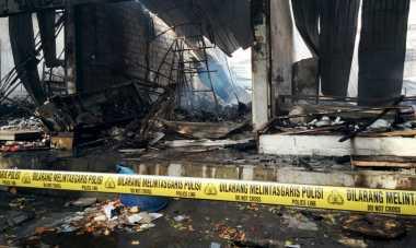 21 Kios di Tanjung Benoa Ludes Terbakar