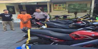 Polisi Gagalkan Penyelundupan 18 Unit Motor di Perbatasan NTT