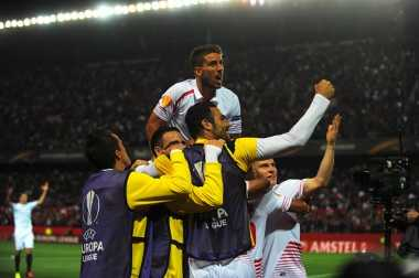 Hempaskan Raksasa Ukraina, Sevilla Lolos ke Final Europa League