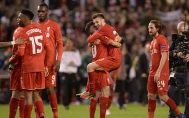 Suarez Girang Liverpool Tembus Final Europa League