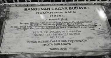 Satu Rumah Radio Perjuangan Surabaya Belum Dibongkar