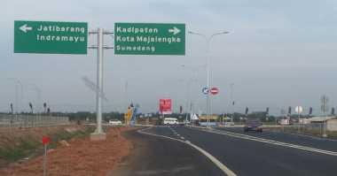 Libur Panjang Hari ke-2, Tol Cirebon Terpantau Lancar