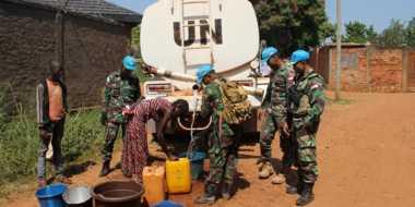 PBB Sebut Kinerja Pasukan Garuda Terbaik di Afrika Tengah