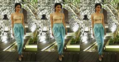 FOTO: Cantiknya Sandra Dewi bak Princess Jasmine