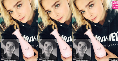 Rindu Berat, Chloe Moretz Kenakan Baju Brooklyn Beckham