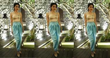 TOP FASHION 2: Cantiknya Sandra Dewi bak Princess Jasmine