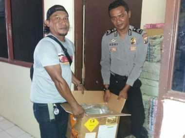 Pasok Miras Dalam Karung Sayur, IRT di Ternate Ditangkap