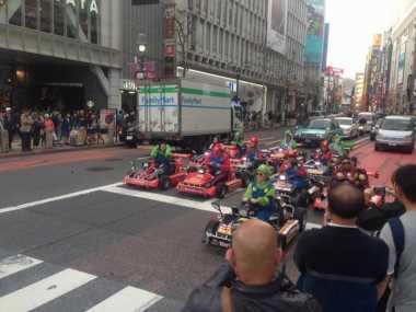 Mario Kart, Wisata Unik dari Jepang