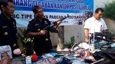 Bea Cukai Yogyakarta Musnahkan Barang Ilegal