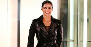 FOTO: Deepika Padukone Serba Hitam di Syuting Terakhir XXX