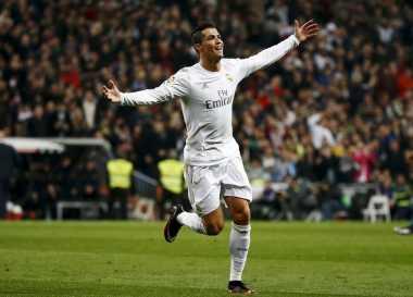 Cristiano Ronaldo Tak Pikirkan Rekor Gol di Liga Champions