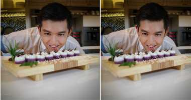 FOTO: Cantiknya Kue Talam Buatan Nicky Tirta
