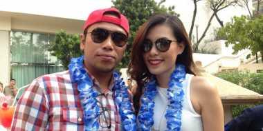 Sammy Simorangkir dan Viviane Kompak Jualan Jagung