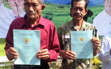 Distribusi Sertifikat 131 Hektare Tanah Kementerian ATR Untungkan Warga