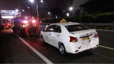 Lima Mobil Terlibat Lakalantas di Tol Slipi