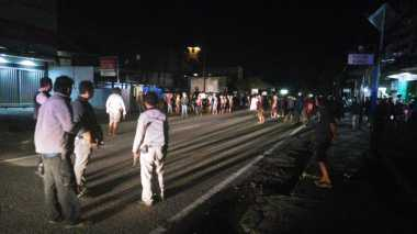 Massa Hendak Bentrok, Malam di Timika Kembali Mencekam