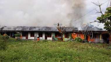 Update, Delapan Rumah Warga di Timika Dibakar