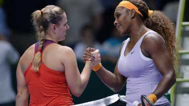 France Open: Kerber Gagal Lolos, Serena Terus Melaju