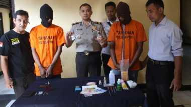 Dua Bandar Sabu Diringkus saat Asyik Pesta Narkoba