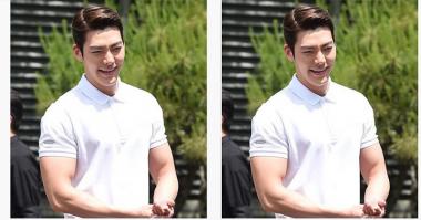 Waduh, Tubuh Lebih Berotot, Kim Woo Bin Dicela Netizen