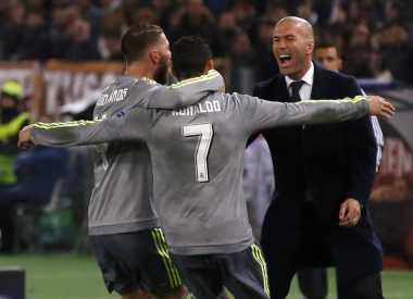 Ronaldo: Zidane Harus Angkat Trofi Liga Champions sebagai Pelatih