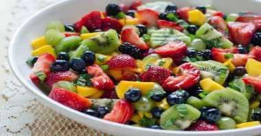 Resep Salad Buah Saus Mint Cara Lezat Santap Buah