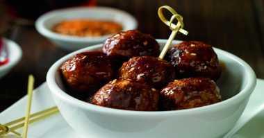 Bikin Korean BBQ Meatballs Yuk...