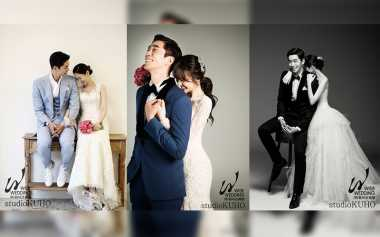 Intip Mesranya Foto Pre-Wedding Shin Sung Rok