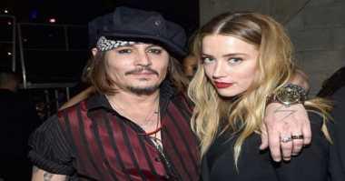 Baru Dinikahi Johnny Depp, Amber Heard Minta Cerai
