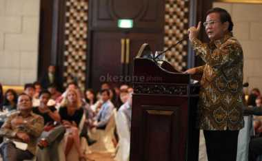 Prabowo Subianto Datangi Acara Revolusi Pancasila di Gedung DPR