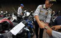 Polda Banten Ubah Pelat Nomor Kendaraan Wilayah Tangerang