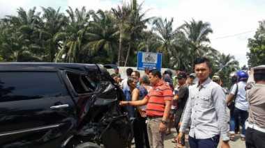 Mobil Ditabrak Kereta Api, Ayah dan Anak Tewas Seketika