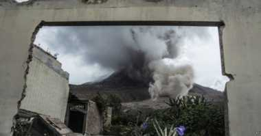 Gunung Sinabung Kembali Meletus, Brastagi Bakal Diguyur Hujan Abu